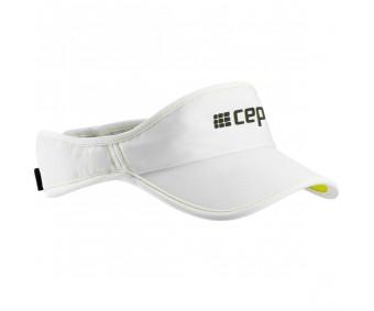 Cep - Vizor alergare, white/lime