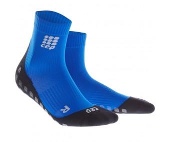 CEP - Șosete scurte griptech, blue