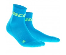 CEP - Șosete scurte ultralight electric blue/green