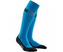 CEP - Șosete de compresie pentru alergare merino electric blue/black