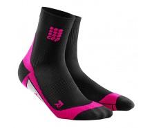 CEP - Șosete scurte black/pink