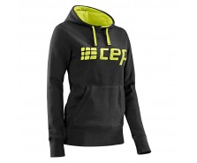 CEP - Hanorac black/lime green, femei