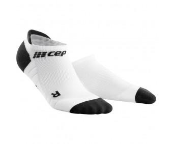CEP - Șosete de compresie sub gleznă 3.0, white/dark grey