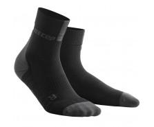 CEP - Șosete scurte de compresie 3.0, black/dark grey