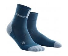 CEP - Șosete scurte de compresie 3.0, blue/grey