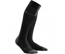 CEP - Șosete de compresie pentru alergare 3.0 black/dark grey