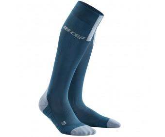 CEP - Șosete de compresie pentru alergare 3.0 blue/grey