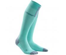 CEP - Șosete de compresie pentru alergare 3.0 ice/grey