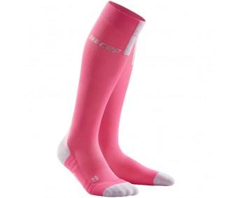 CEP - Șosete de compresie pentru alergare 3.0 rose/light grey