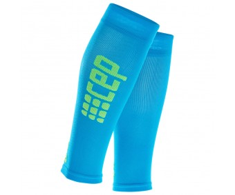 CEP - Compresie gambă Ultralight electric blue/green