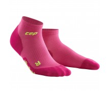 CEP - Șosete peste gleznă ultralight electric pink/green