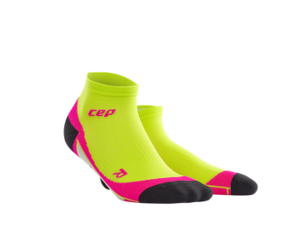 CEP - Șosete peste gleznă lime/pink