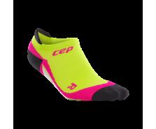 CEP - Șosete sub gleznă lime/pink