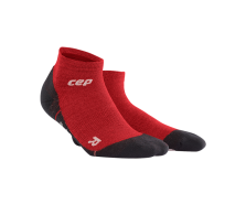 CEP - Șosete merino outdoor light peste gleznă deep magma