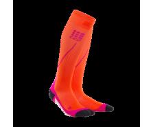 CEP - Șosete de compresie pentru alergare 2.0 sunset/pink