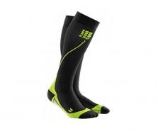 CEP - Șosete de compresie pentru alergare 2.0 black/green