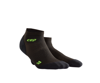 CEP - Șosete peste gleznă ultralight black/green