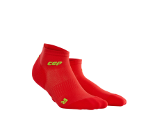CEP - Șosete peste gleznă ultralight red/green
