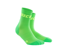 CEP - Șosete scurte ultralight viper/green