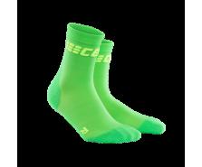 CEP - Șosete scurte ultralight viper/green