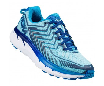 Hoka Clifton 4, Blue Topaz/Imperial Blue, femei
