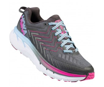 Hoka Clifton 4, Castle Rock/Asphalt, femei