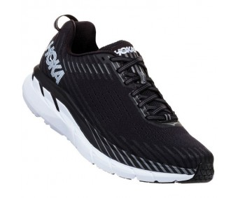 Hoka Clifton 5, Black/White, bărbați