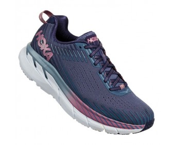 Hoka Clifton 5, Marlin/Blue Ribbon, femei