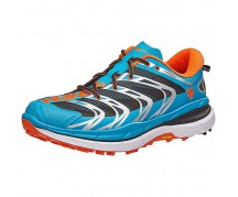 Hoka Speedgoat, Blue/Red Orange, bărbați