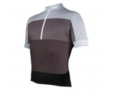 Poc - tricou ciclism Fondo WO Half Zip Phosphite Multi Grey