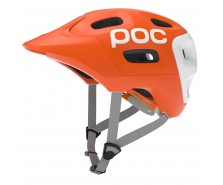 Poc - cască ciclism Trabec Race Orange/White