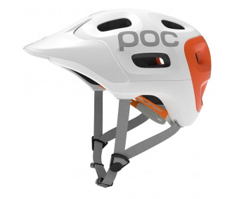 Poc - cască ciclism Trabec Race White/Orange