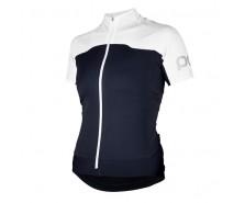 Poc - tricou ciclism Avip WO Navy Black/Hydrogen White