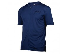 Poc - tricou ciclism Trail Light Zip Tee Boron Blue