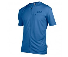 Poc - tricou ciclism Trail Light Zip Tee Stibnite Blue
