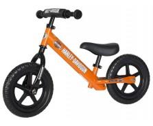 Strider - Bicicletă fără pedale 12 co-branded Harley Davidson, portocaliu