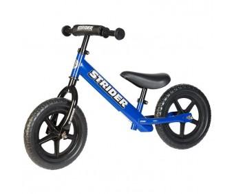 Strider - Bicicletă fără pedale 12 Sport, albastru