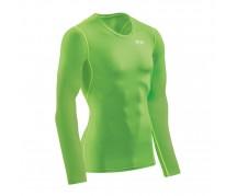 CEP - Tricou de compresie Wingtech, mânecă lungă, viper/green